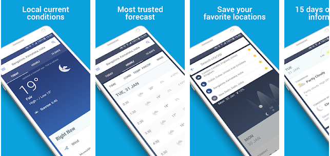Weather Apps For Android Phone