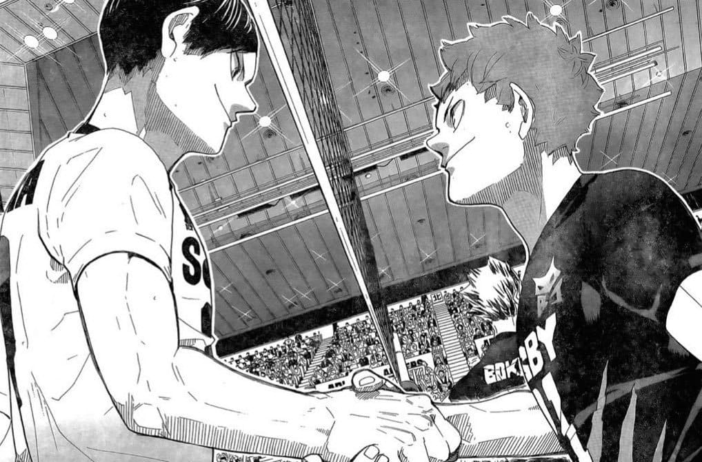 Haikyuu Chapter 396
