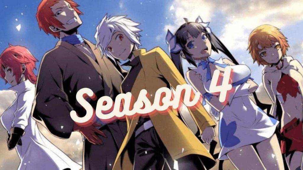 Danmachi Season 4