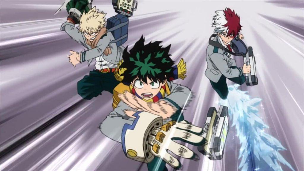 Boku no My Hero Academia Chapter 319
